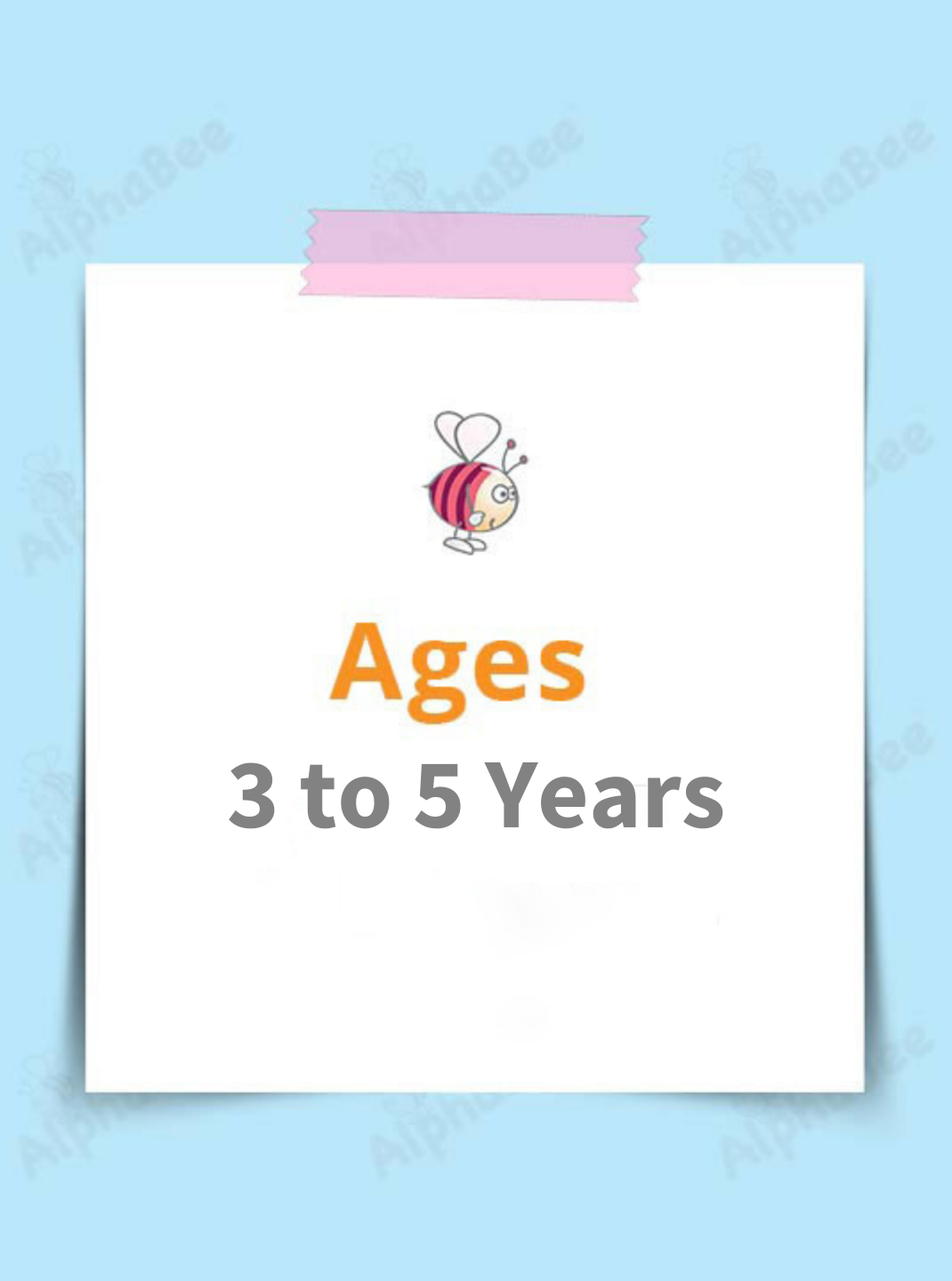 Ages 3-5 Years
