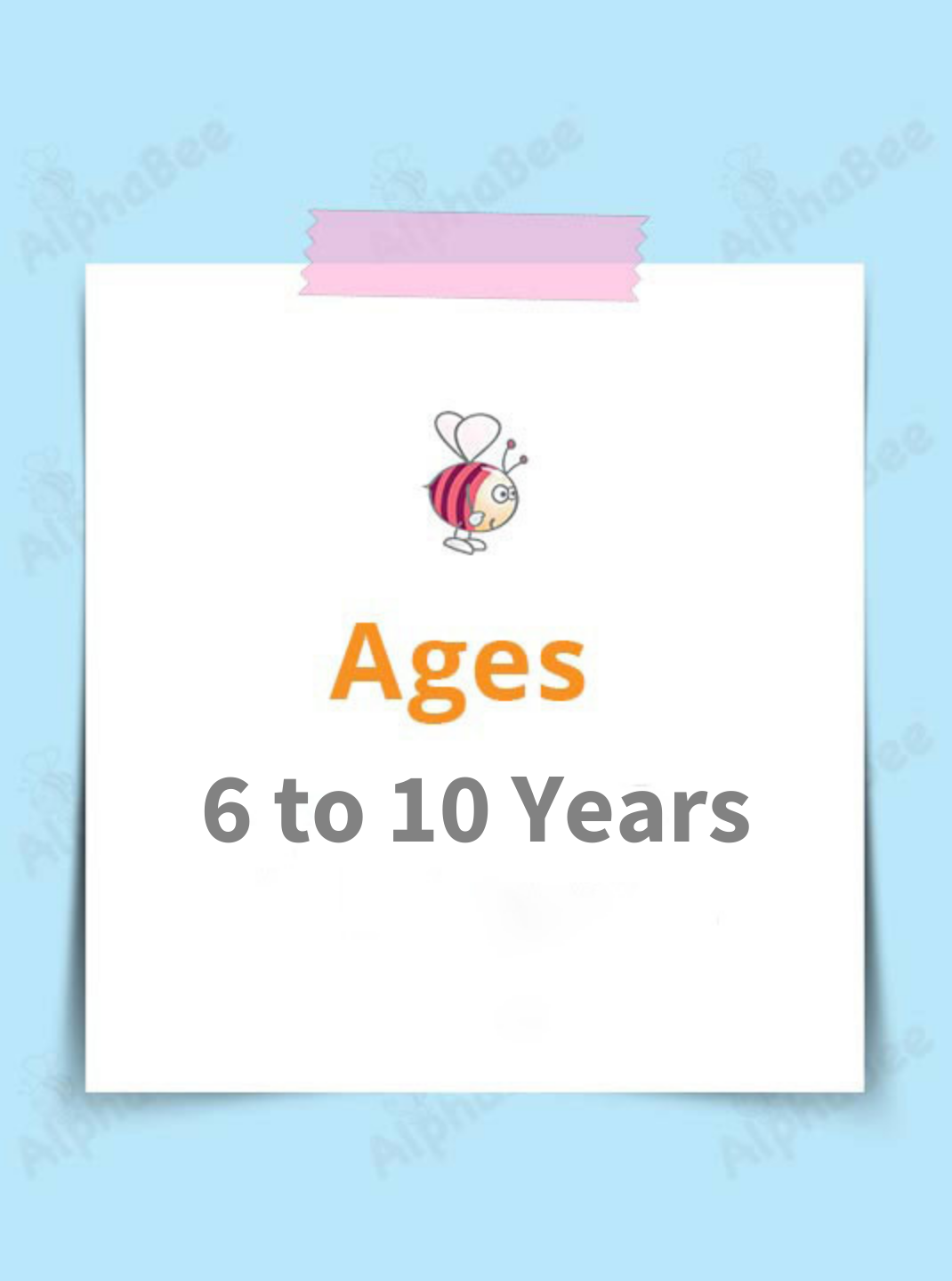 Ages 6-10 Years