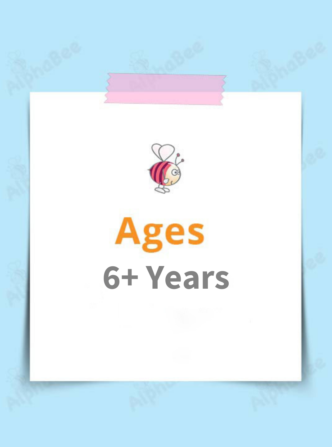 Ages 6+ Years