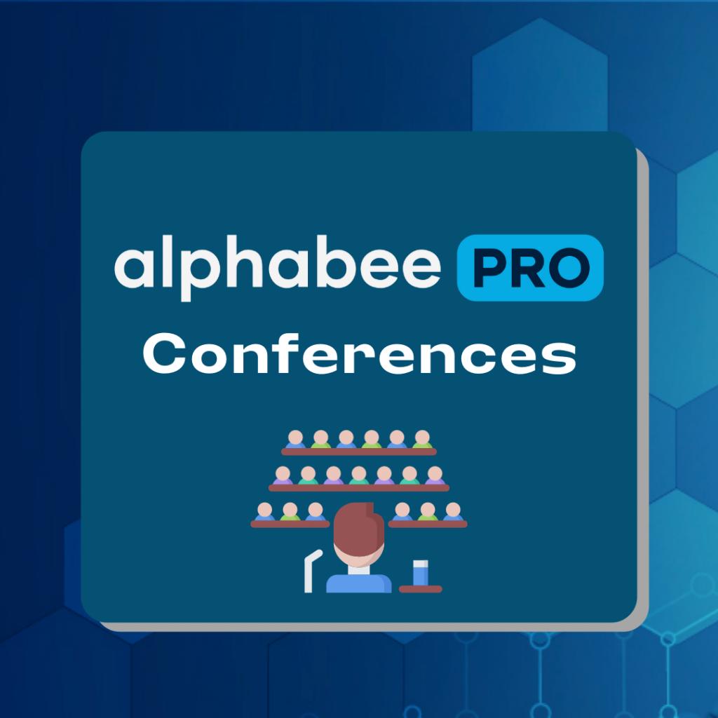 alphabeePro Conferences